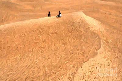 Painting - Jaisalmer Desert Festival-4 by Anil Sharma