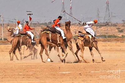 Painting - Jaisalmer Desert Festival-7 by Anil Sharma
