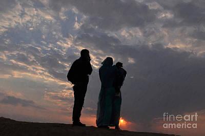 Painting - Jaisalmer Desert Festival-8 by Anil Sharma