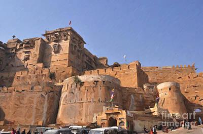 Painting - Jaisalmer Desert Festival-9 by Anil Sharma