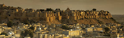 Photograph - Jaisalmer Fort Panorama by Fran Gallogly