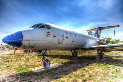 Photograph - Jak-40 Aircraft by David Pyatt