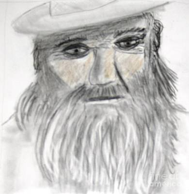 Painting - Jake The Ranch Hand by Victoria Hasenauer