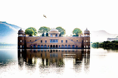 Photograph - Jal Mahal Water Palace Jaipur India by Rene Triay Photography