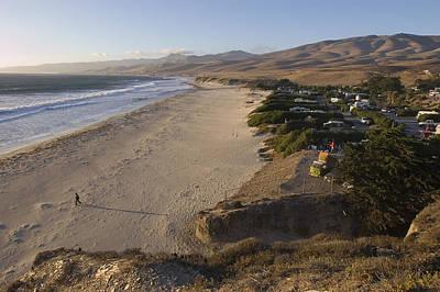 Gaviota Photograph - Jalama Campground And Beach. Pacific by Rich Reid