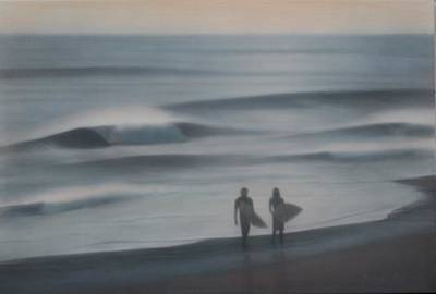 Painting - Jalama by Mark Leavitt