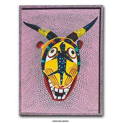 Painting - Jalisco Mask by Michael Earney