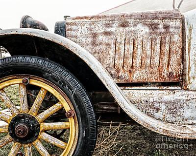 Antique Automobiles Photograph - Jalopy by Alison Sherrow