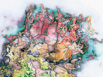 Wall Art - Digital Art - Jam Session by George Michael