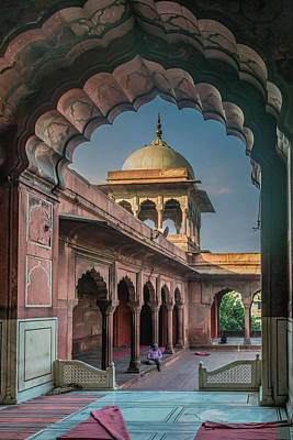 Photograph - Jama Masjid 2 by Steven Richman