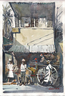 Painting - Old Jamaica Country by Gaston McKenzie