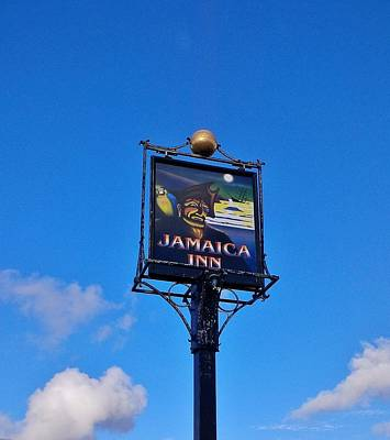 Photograph - Jamaica Inn Sign Bodmin Moor Cornwall by Richard Brookes