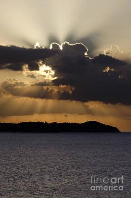 Jamaican Sunset Photograph - Jamaica Sunset by Dee Cresswell