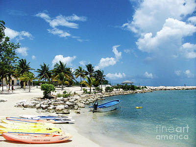 Superhero Ice Pop Rights Managed Images - Jamaican Beachfront Royalty-Free Image by Peter Stawicki