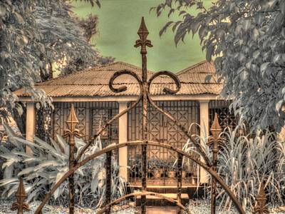 Jamaican Photograph - Jamaican Gate by Jane Linders