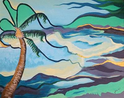 Jamaican Sea Breeze Art Print by Jan Steinle