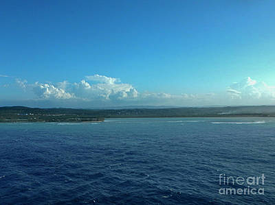 Photograph - Jamaican Shoreline by Judy Hall-Folde