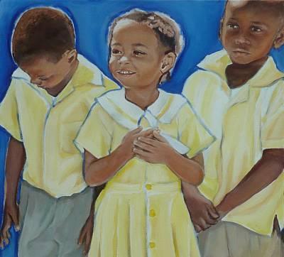 Jamaican Painting - Jamaican Sunshine Version 2 by Sheila Diemert