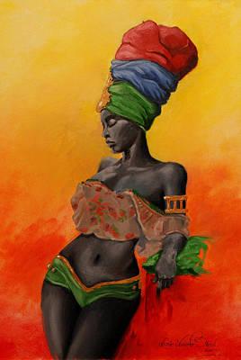 Jamaican Vibe Original by Lessie Venardo Dixon