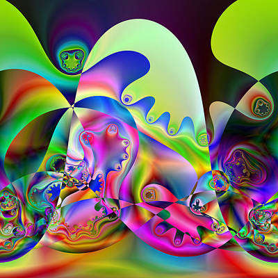 Digital Art - Jamarolees by Andrew Kotlinski