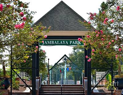 Jambalaya Park In Gonzales Louisiana Art Print