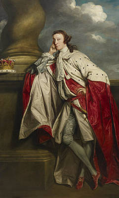 Painting - James 7th Earl Of Lauderdale by Joshua Reynolds