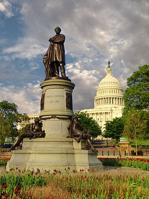 Photograph - James A. Garfield Monument - Washington D. C. by Glenn McCarthy Art and Photography