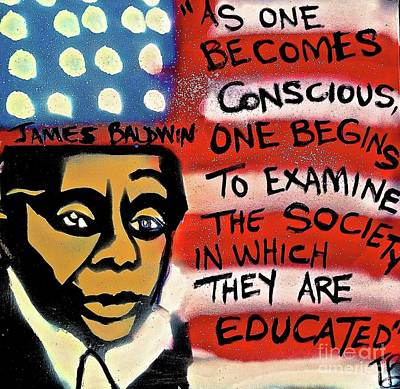 James Baldwin Conscious Art Print
