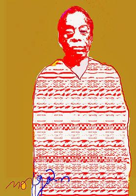 James Baldwin Art Print by Noredin Morgan