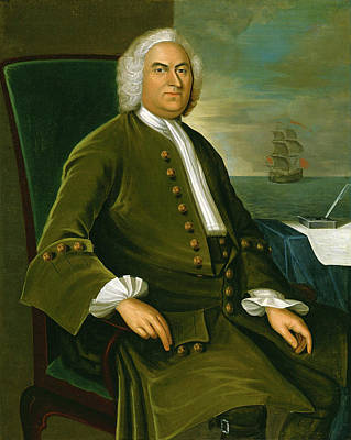 Joseph Badger Painting - James Bowdoin I A Merchant And Father Of Governor James Bowdoin by Joseph Badger