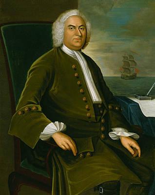 18th Century Painting - James Bowdoin by Joseph Badger