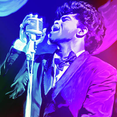 Digital Art Rights Managed Images - James Brown Royalty-Free Image by Greg Joens