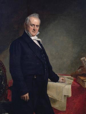 President Painting - James Buchanan by George Peter Alexander Healy