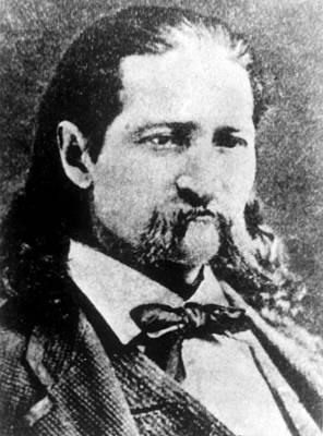 Wild Bill Hickok Photograph - James Butler Hickok Aka Wild Bill by Everett