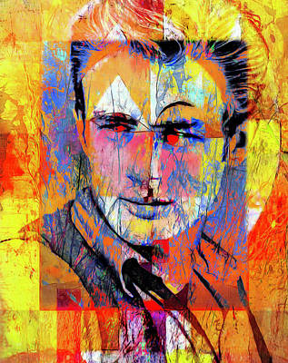 Actors Royalty-Free and Rights-Managed Images - James Byron Dean by Mal Bray