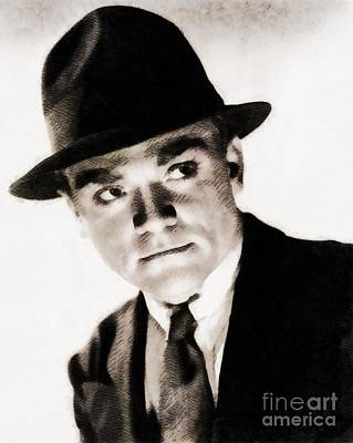 James Cagney, Hollywood Legend By John Springfield Art Print