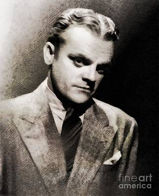 James Cagney. Vintage Actor Art Print