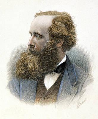 James Clerk Maxwell Print by Granger