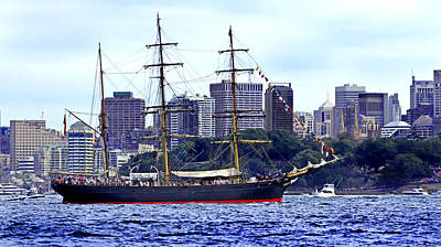 Photograph - James Craig 1874 Tall Ship by Miroslava Jurcik