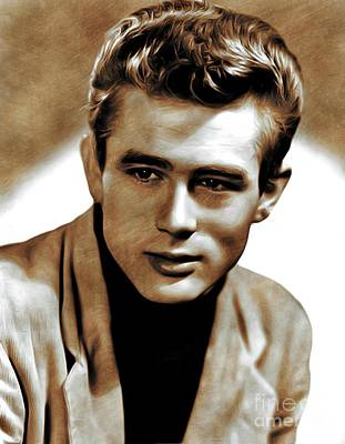 James Dean, Actor Art Print