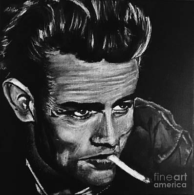 James Dean Cigarette  Original by Kimberly A P