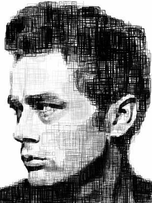 James Dean Print by Harold Belarmino
