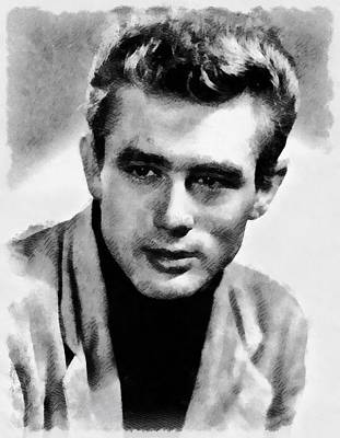 James Dean Hollywood Legend Art Print