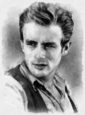 James Dean Art Print by Esoterica Art Agency