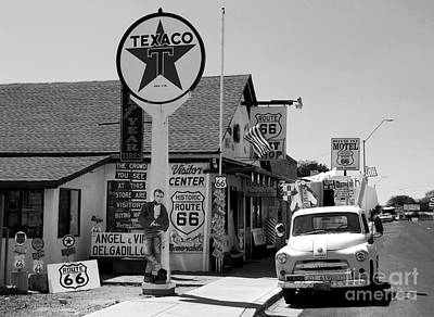 Old Store Photograph - James Dean On Route 66 by David Lee Thompson