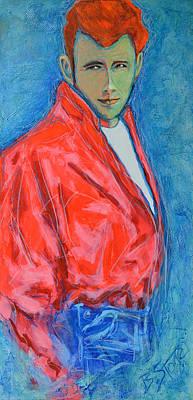 James Dean One Original by Brian Stone