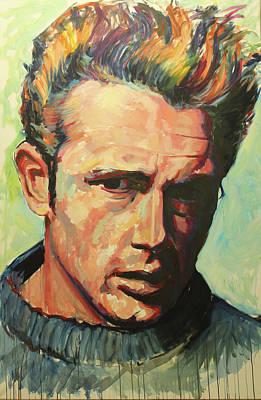 James Dean Original by Tachi Pintor