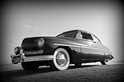 Photograph - James Dean's Merc by Steve Natale