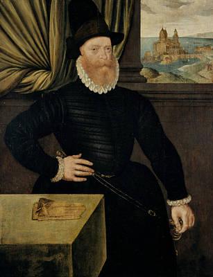James Douglas 4th Earl Of Morton Art Print by Arnold Bronckorst