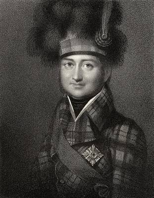 Fife Drawing - James Duff 4th Earl Of Fife 1776 To by Vintage Design Pics